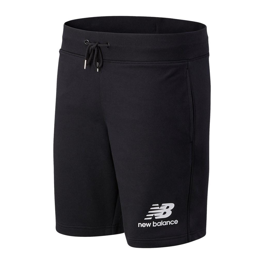 New Balance - Essentials Stacked Logo Short - black