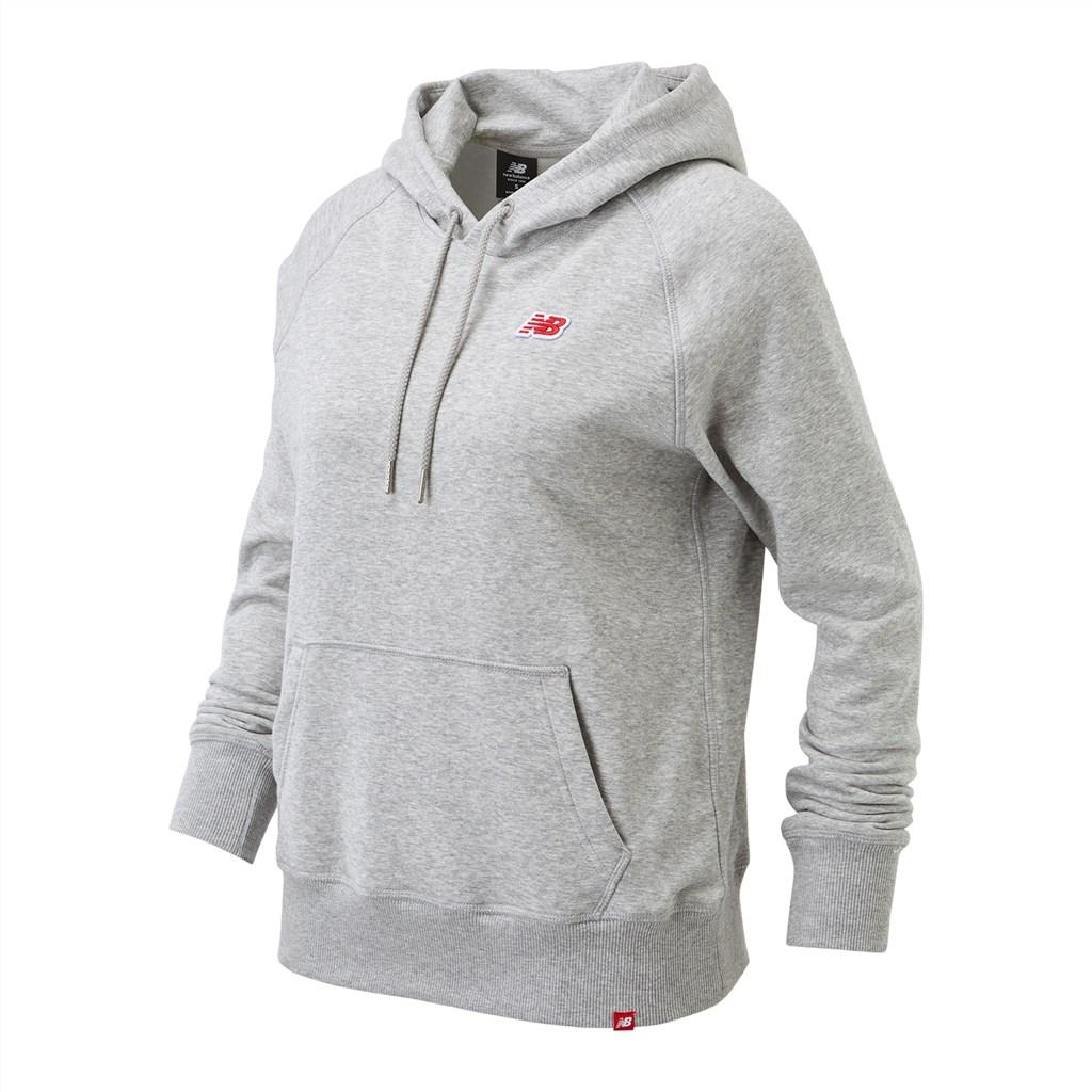 New Balance - W NB Small Logo OTH Hoody - athletic grey
