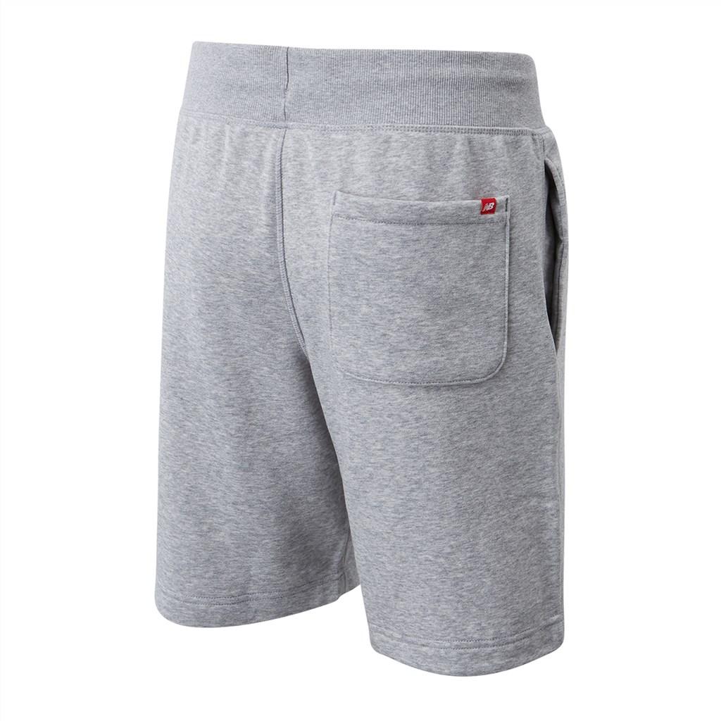 New Balance - NB Small Logo Shorts - athletic grey