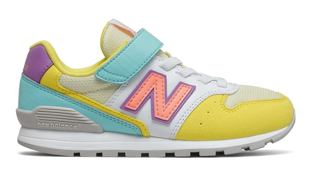 New Balance - YV996MYS - yellow/aqua