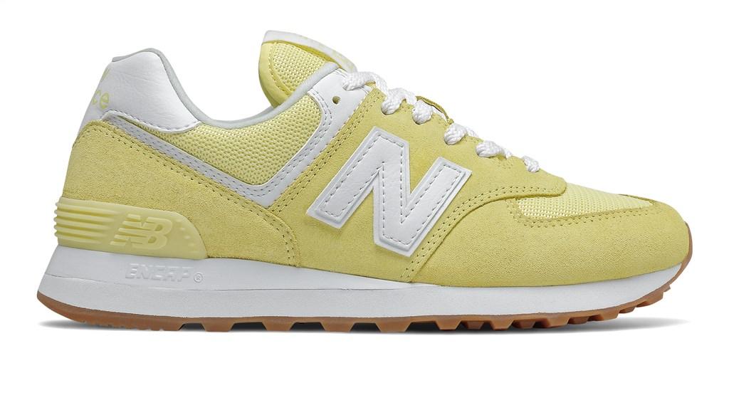 New Balance - WL574PK2 - yellow