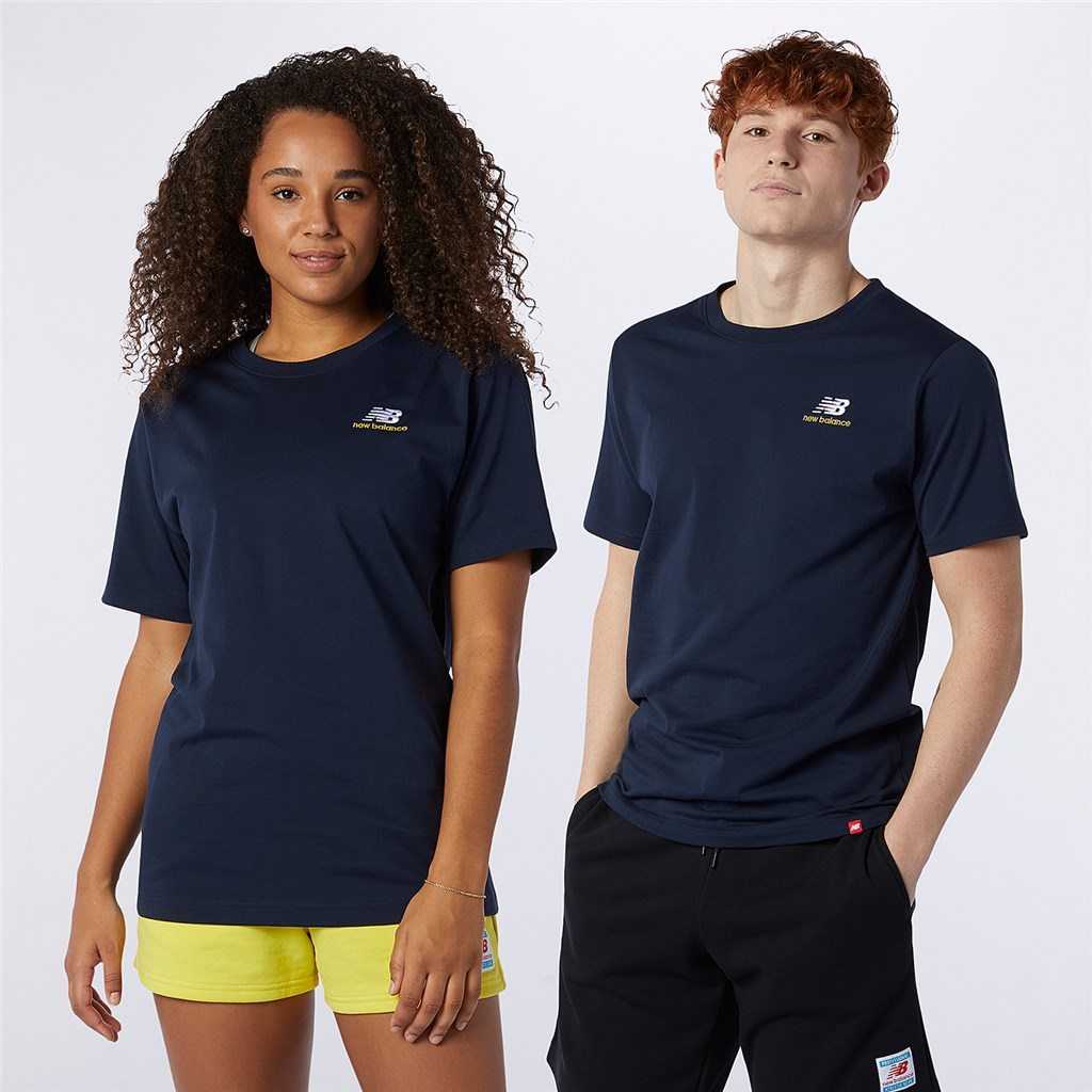 New Balance - NB Essentials Embroidered Tee - eclipse