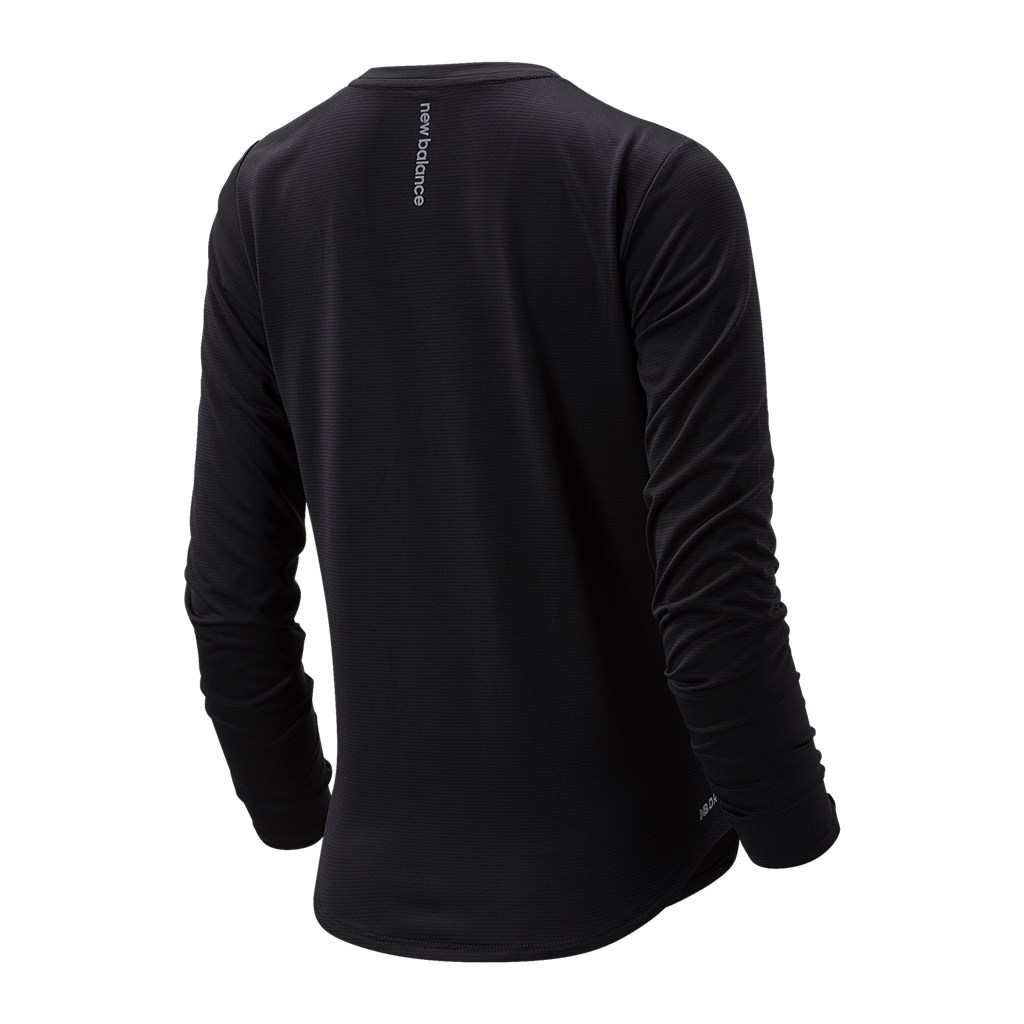 New Balance - W Accelerate Long Sleeve - black