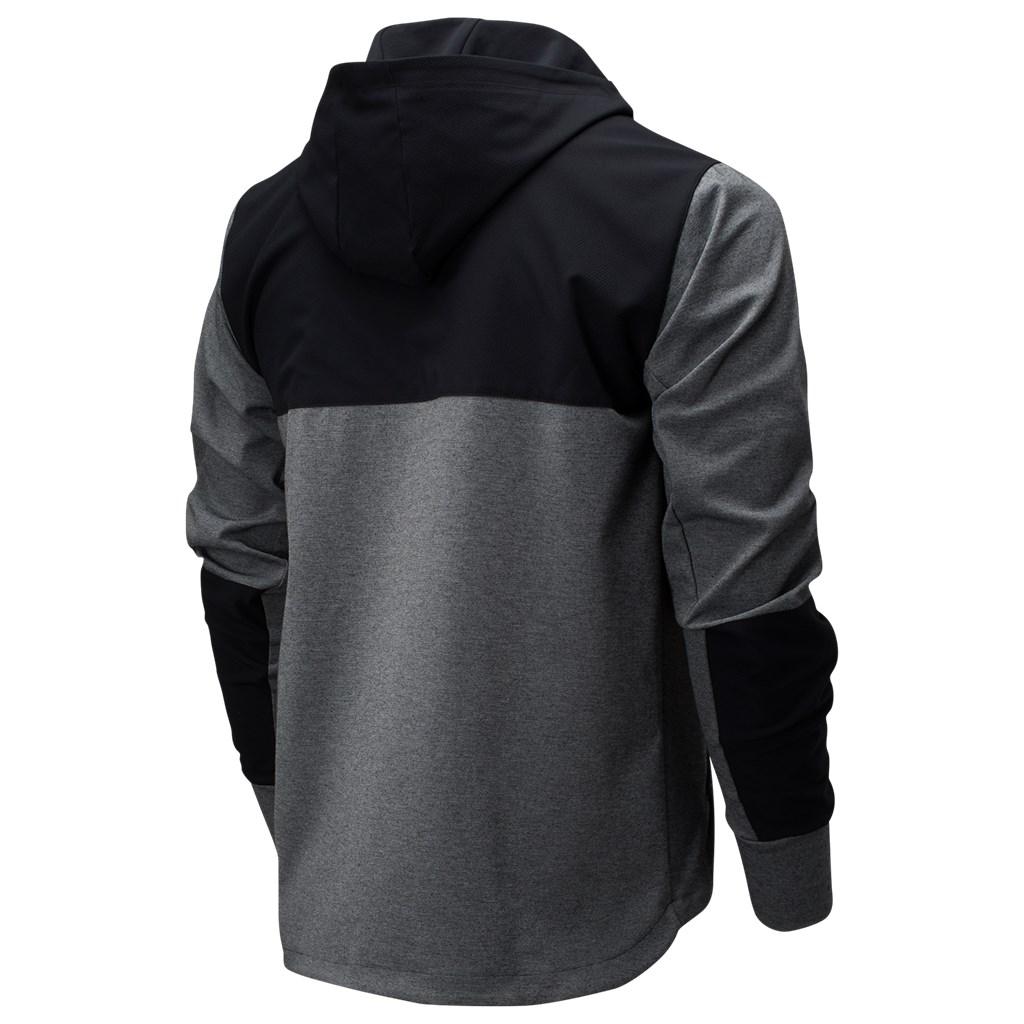 New Balance - Fortitech Mixed Media Jacket - black