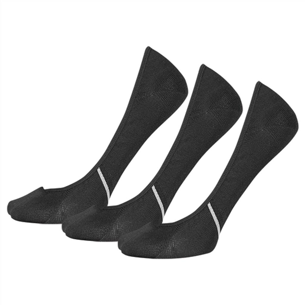 New Balance - NB No Show Liner Sock 3 Pair - black
