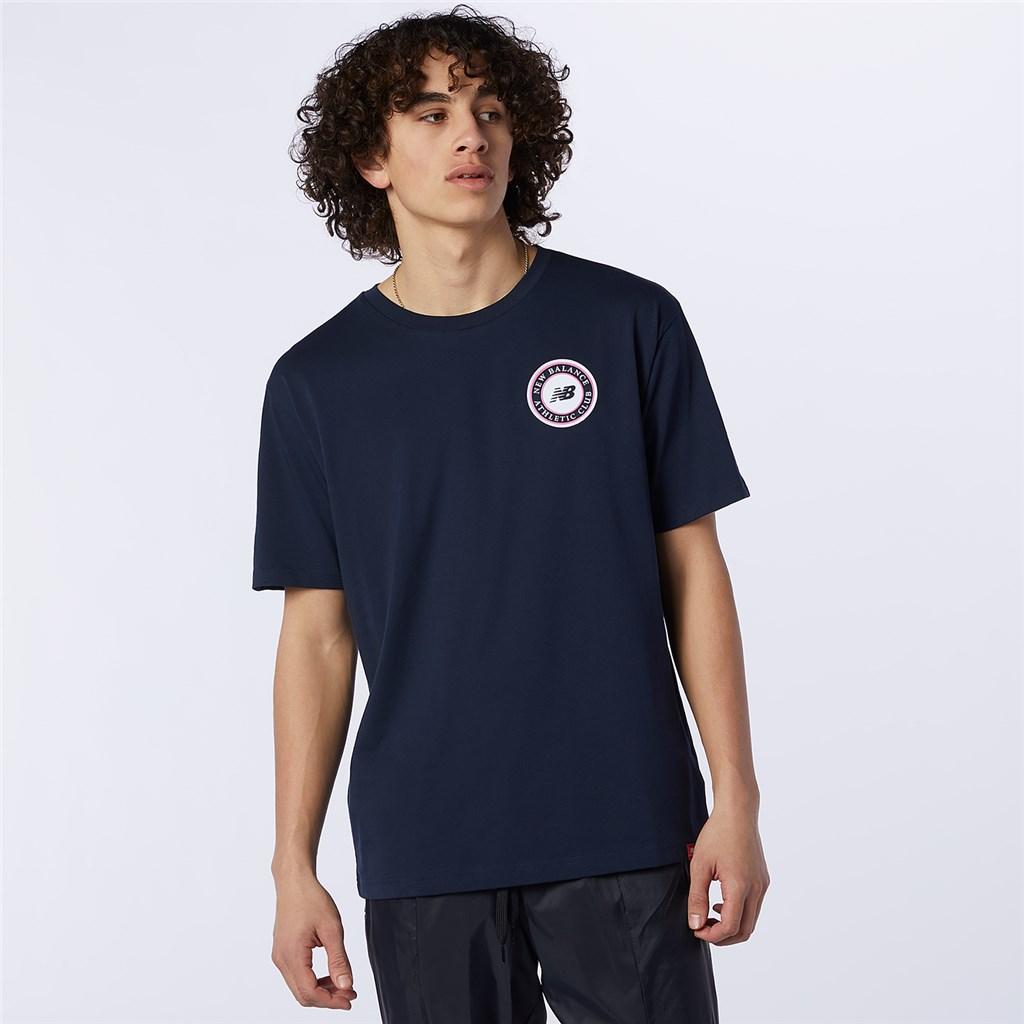 New Balance - NB Essentials Athletic Club Logo Tee - eclipse