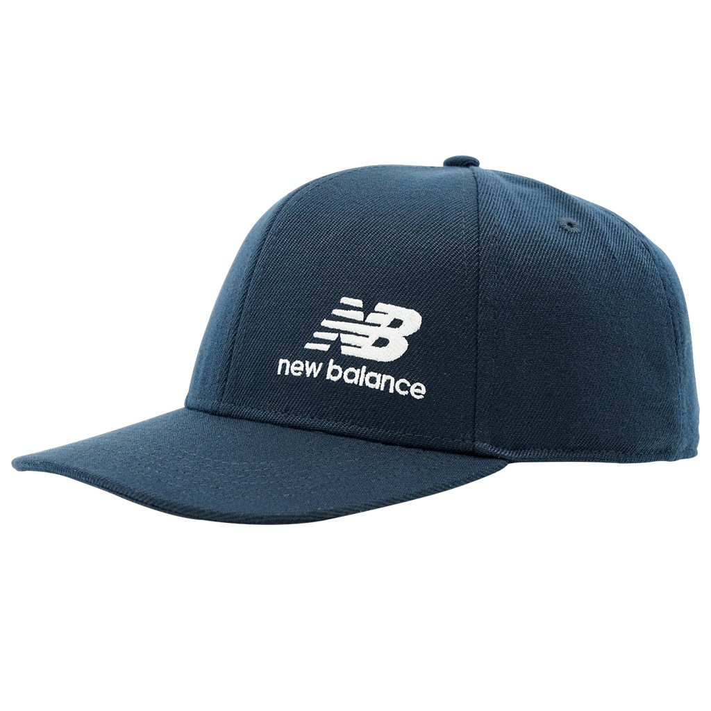 New Balance - NBF - Team Stacked Snapback - eclipse/white