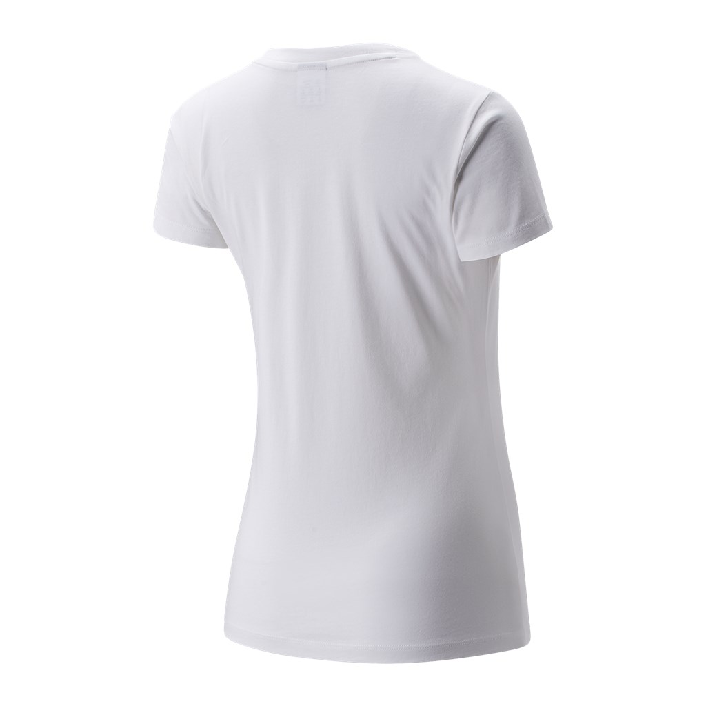 New Balance - W NB Essentials Athletic Club Graphic Tee - white