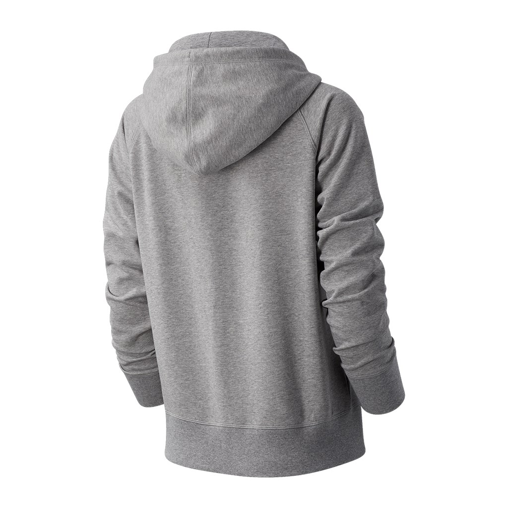 New Balance - W Essentials FZ Hoodie - athletic grey