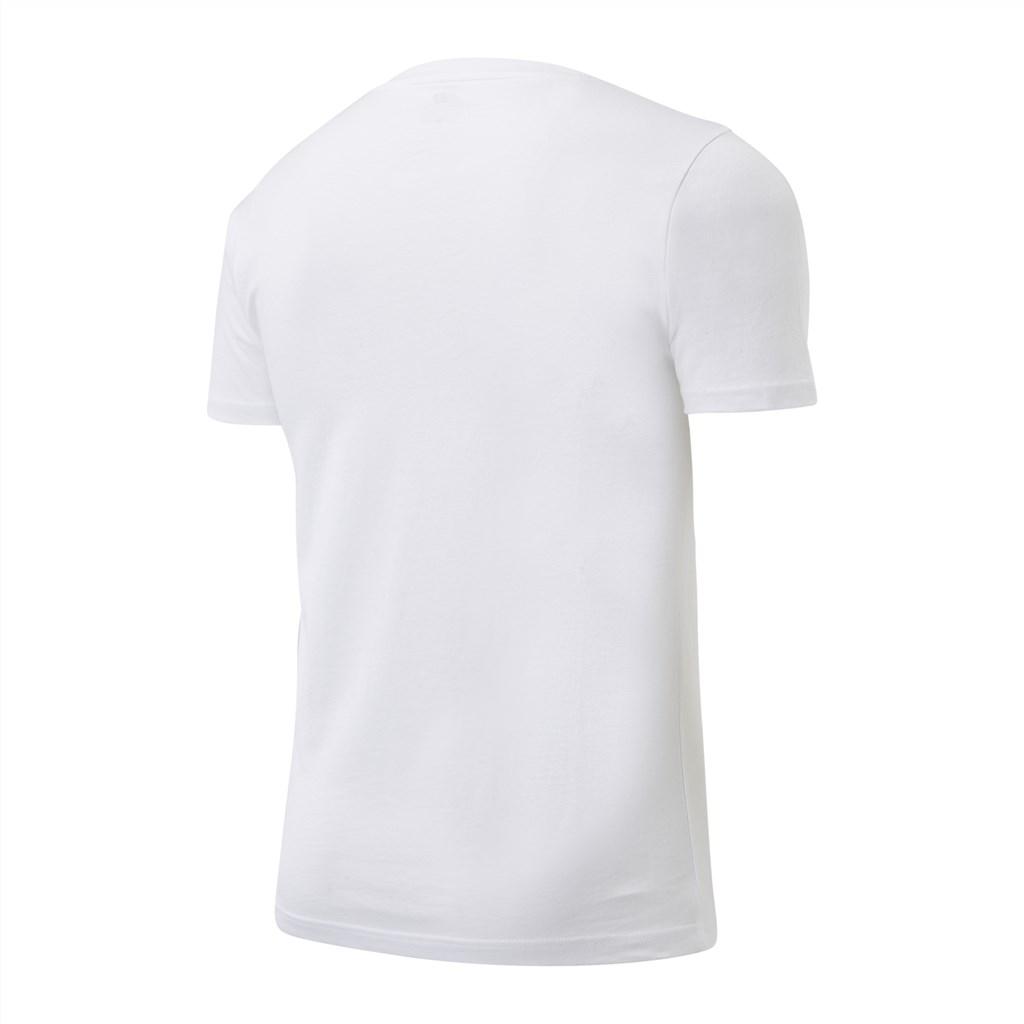 New Balance - NB Small Logo SS Tee - white