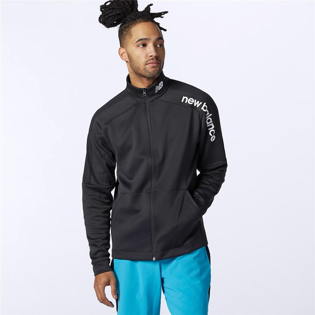 New Balance - Tenacity Knit Jacket - black