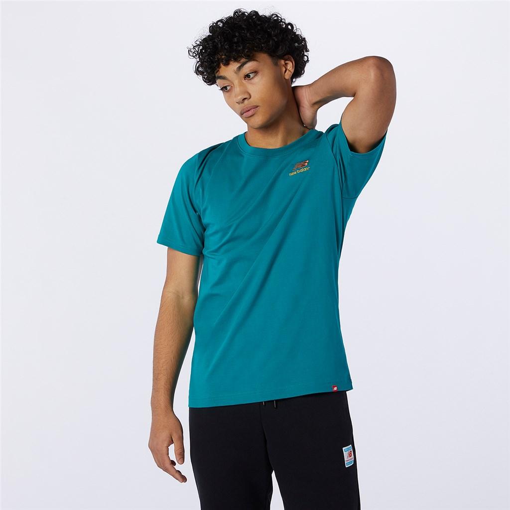 New Balance - NB Essentials Embroidered Tee - team teal