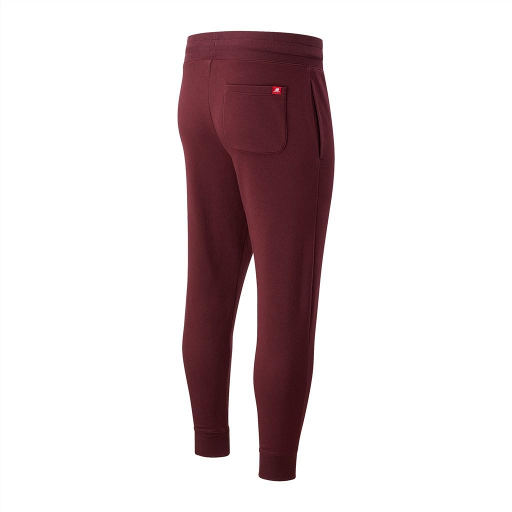 New Balance - NB Essentials Embroidered Pant - nb burgundy