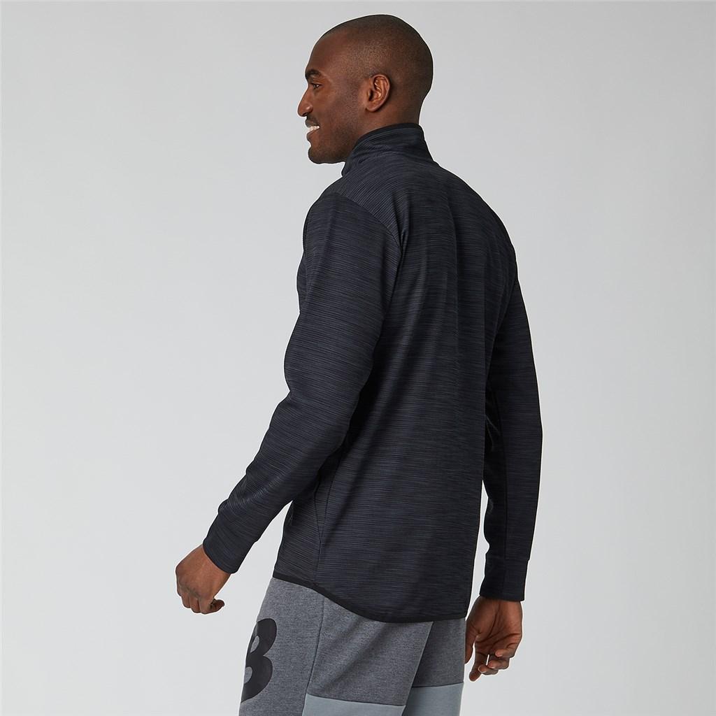 New Balance - Tenacity Quarter Zip - black heather