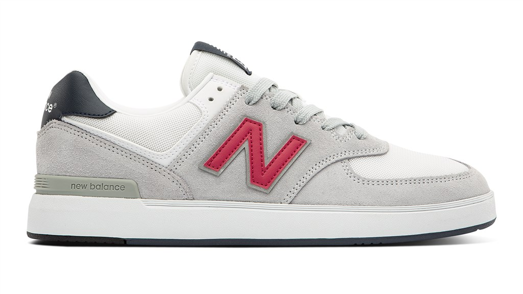 New Balance - AM574AGS - grey/red
