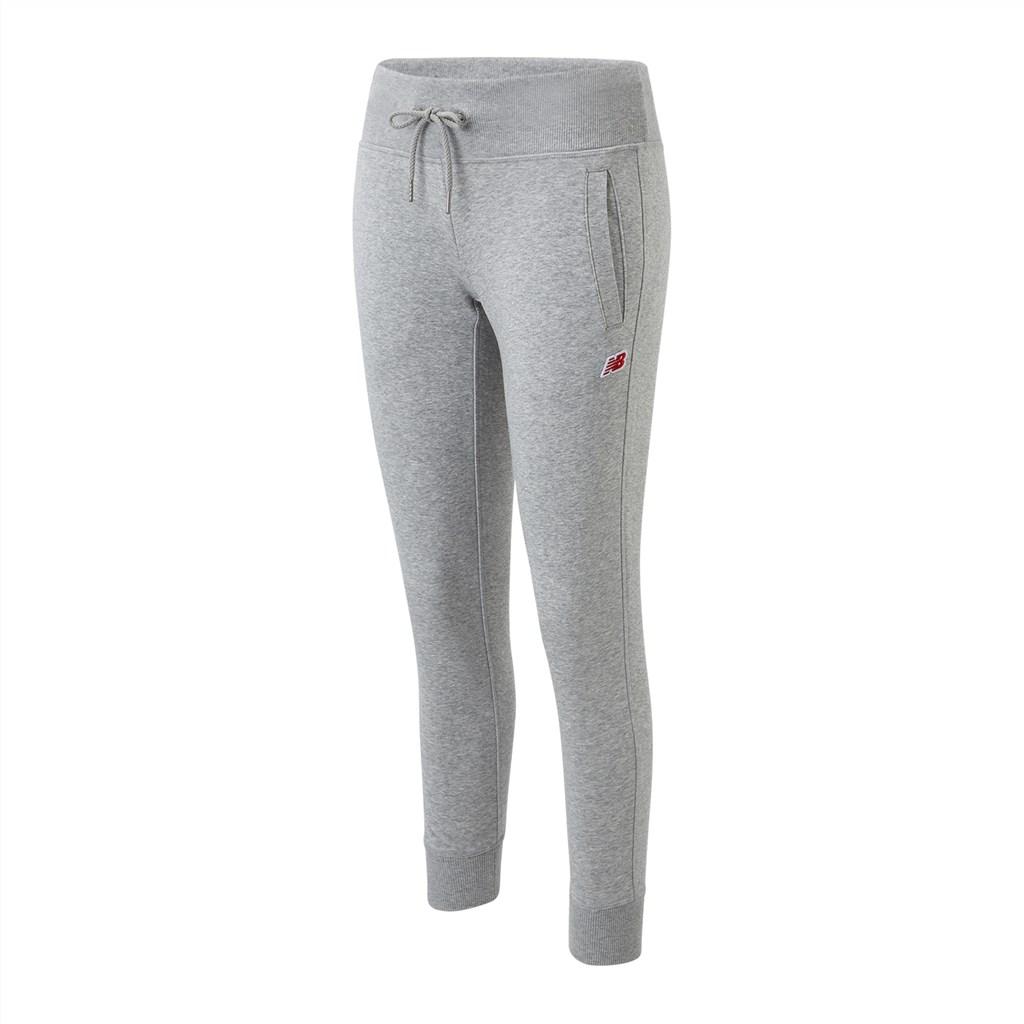 New Balance - W NB Small Logo Sweatpant - athletic grey