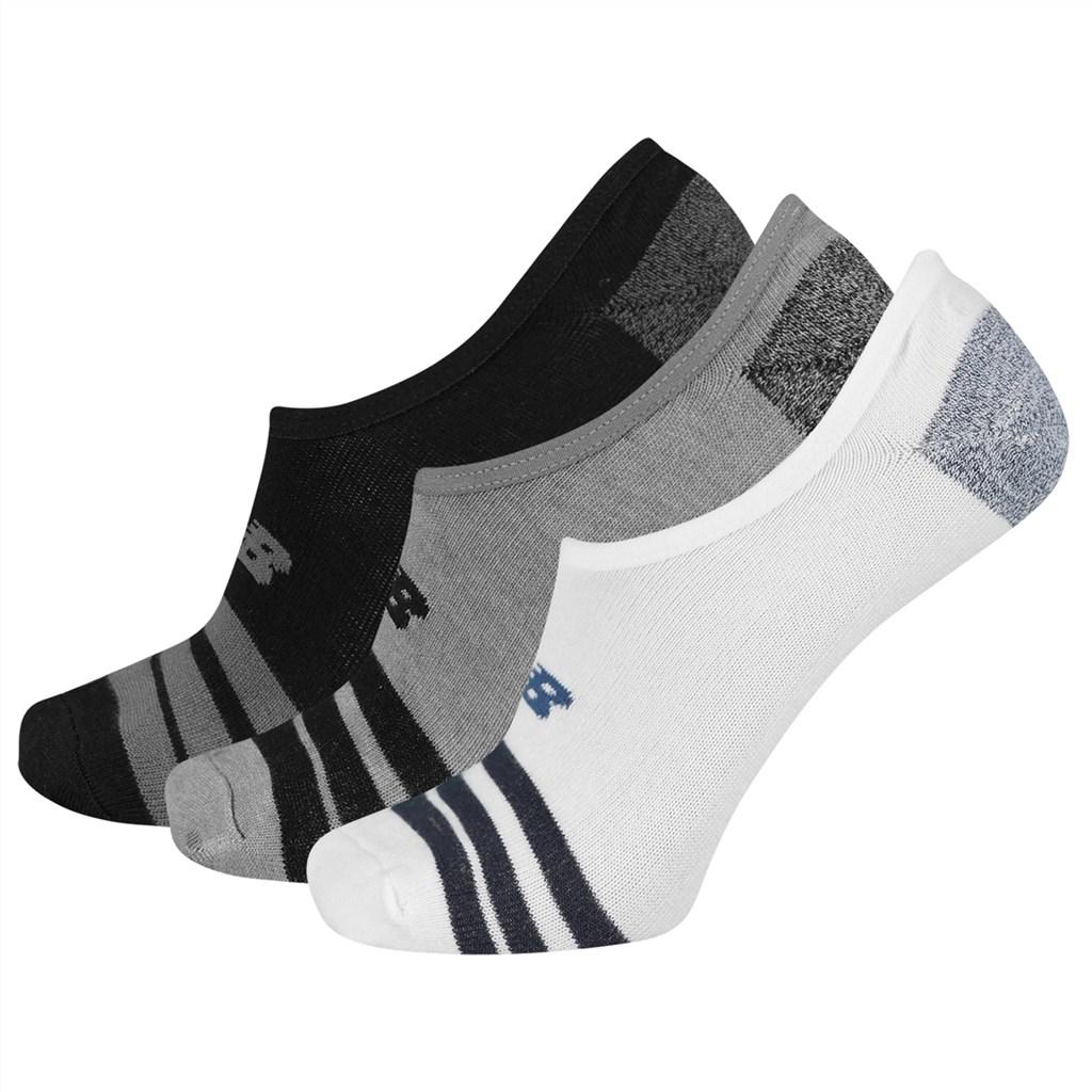 New Balance - NB Unisex Ultra Low No Show Sock 3 Pair - black multi