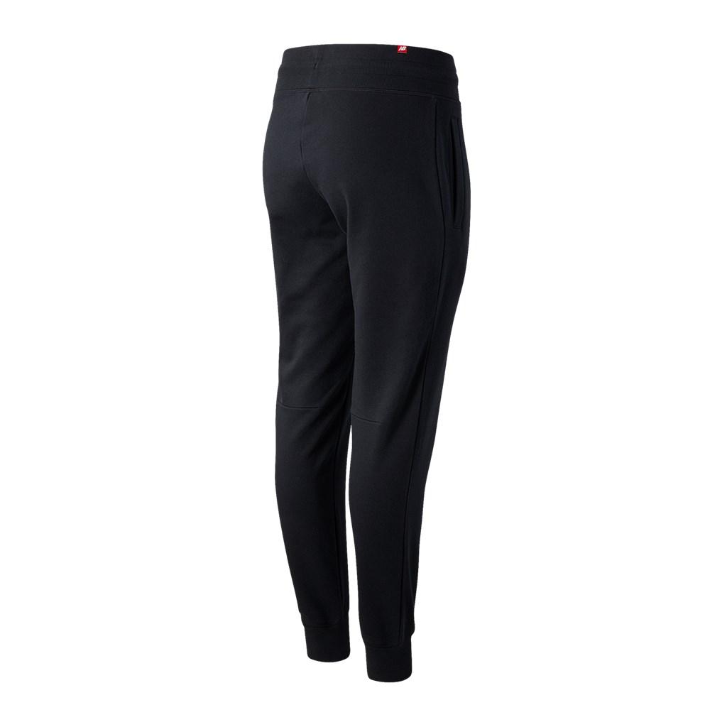 New Balance - W Essentials Stacked Logo Sweatpant - black