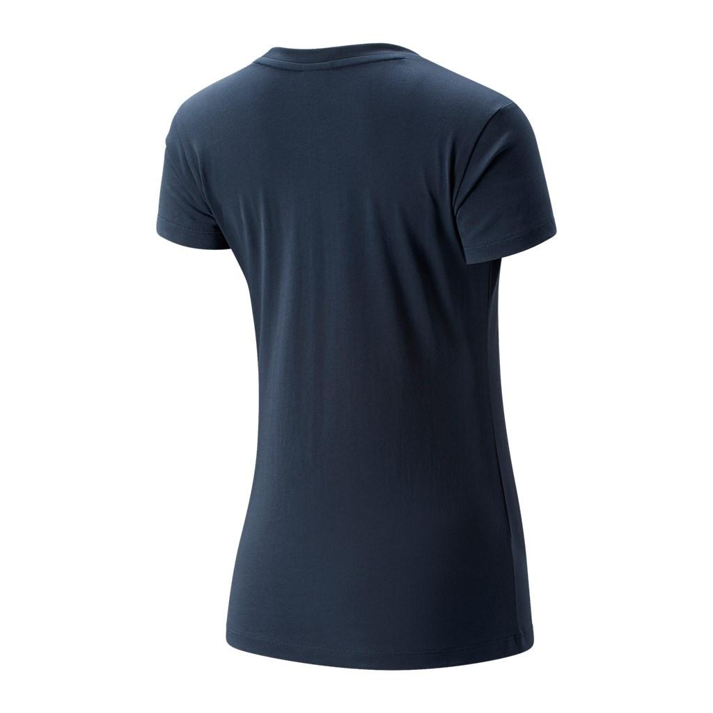 New Balance - W NB Essentials Athletic Club Graphic Tee - deep ocean grey