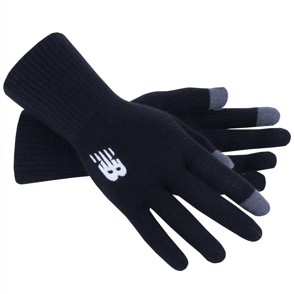 New Balance - NB Knit Gloves - black