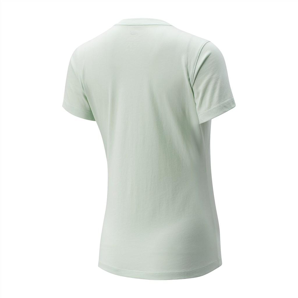 New Balance - W NB Essentials ID Athletic Tee - white sage