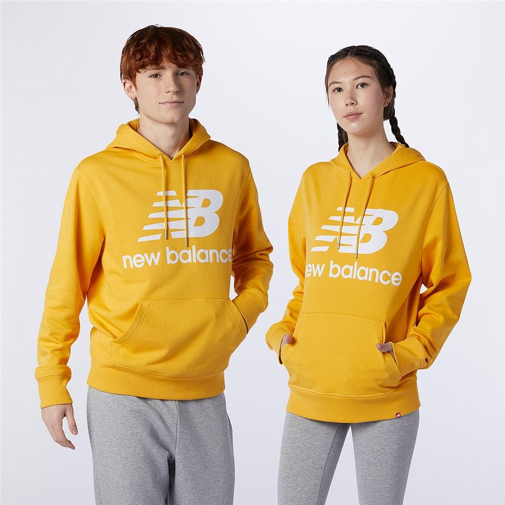 New Balance - Essentials Stacked Logo PO Hoodie - aspen