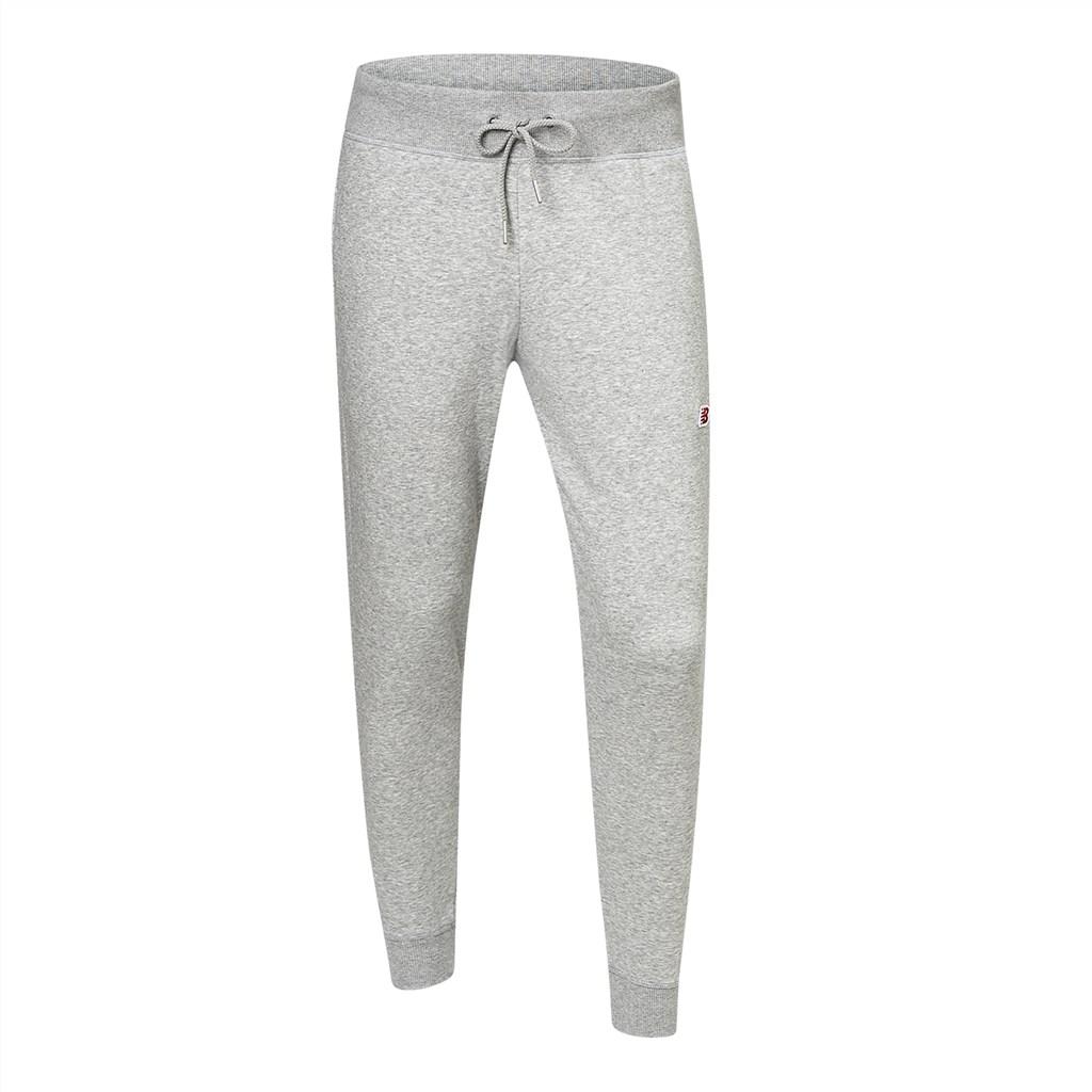 New Balance - NB Small Logo Sweatpant - athletic grey