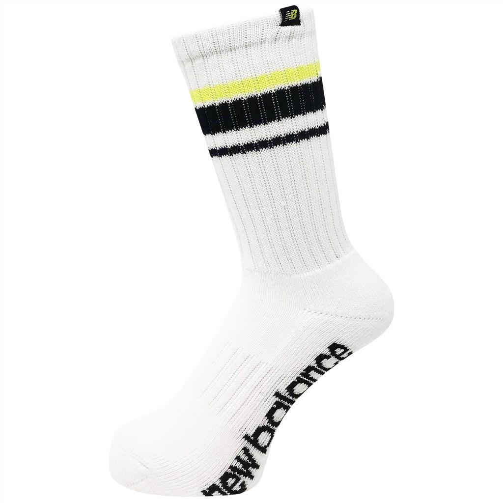 New Balance - Essentials Athletic Club Crew 1 Pair - white