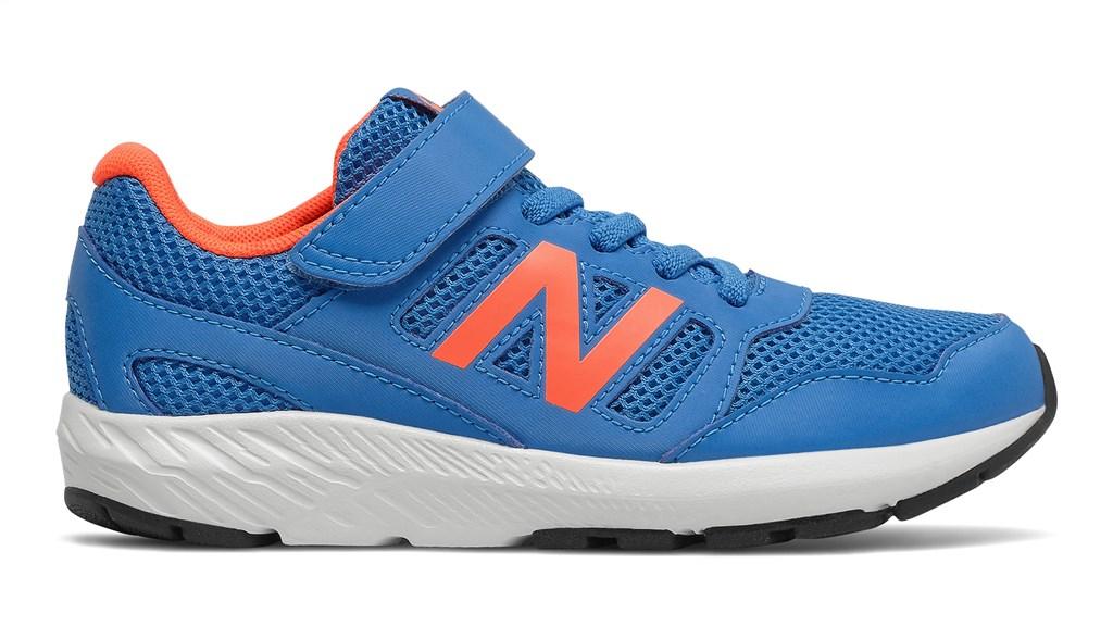 New Balance - YT570CRS Kids 570 v2 Bungee/Top Strap - blue/orange