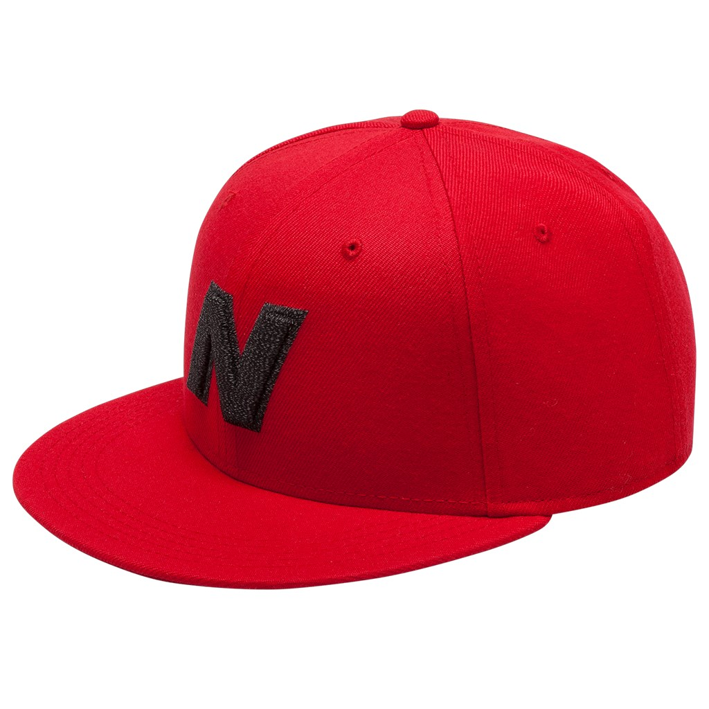 New Balance - NB Exploded Logo Hat - team red (REP)