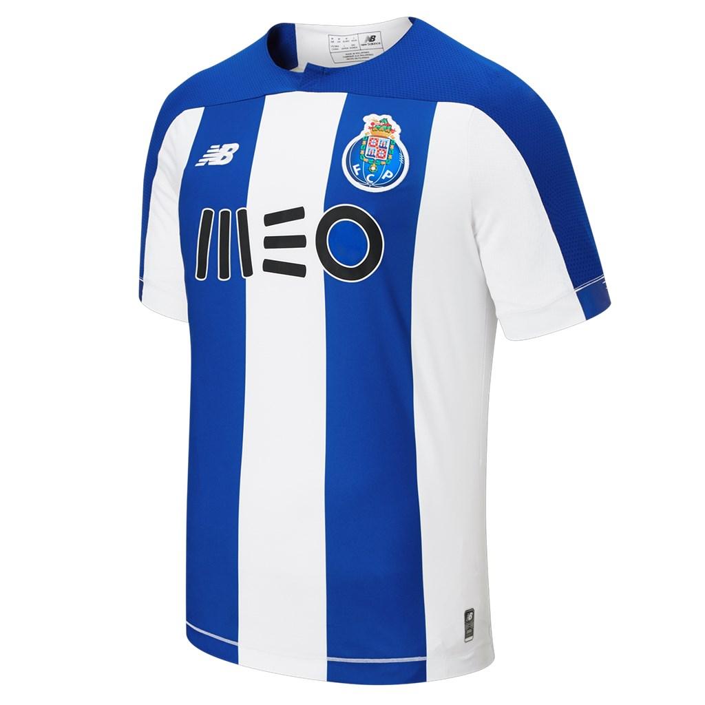 New Balance - FC Porto Home Junior SS Jersey 19/20 - home