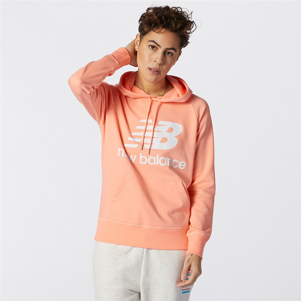 New Balance - W Essentials Pullover Hoodie - paradise pink