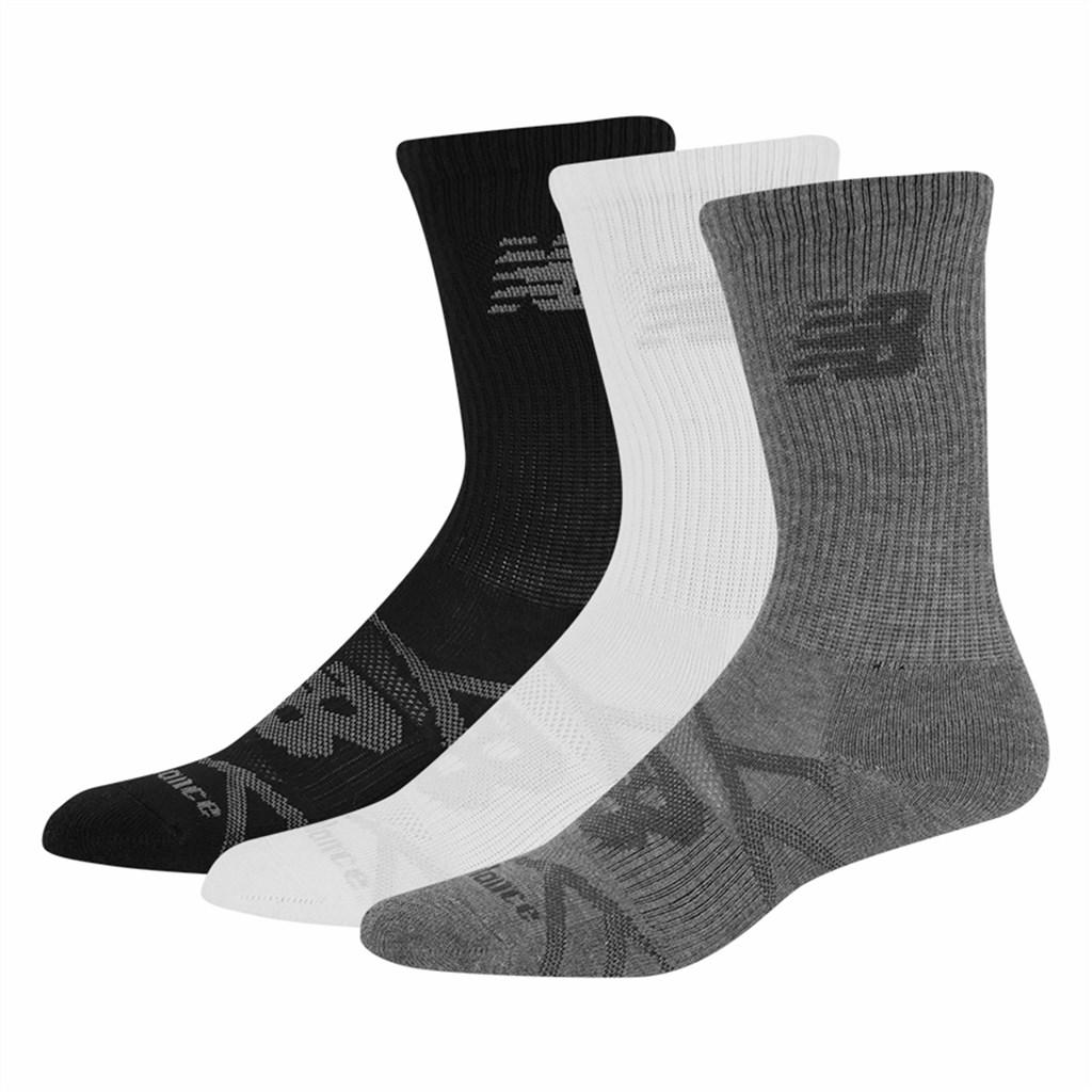 New Balance - NB Kids PF Crew Sock 3 Pair - grey/multi