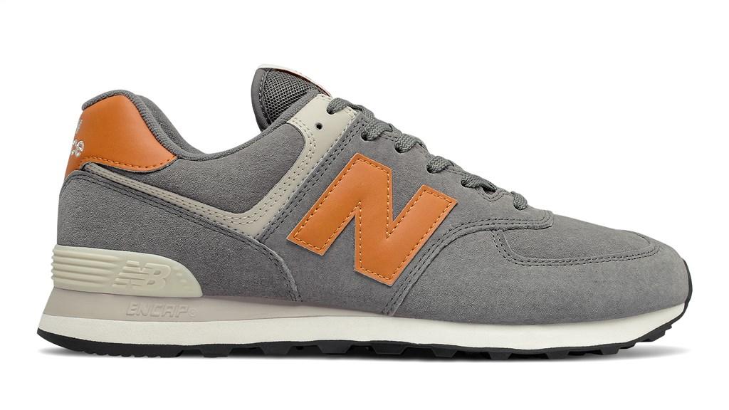 New Balance - ML574PM2 - grey/orange