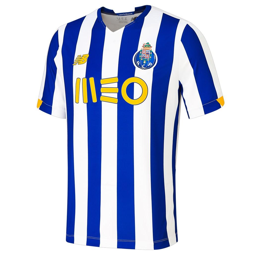 New Balance - FC Porto Home Junior SS Jersey 20/21 - home