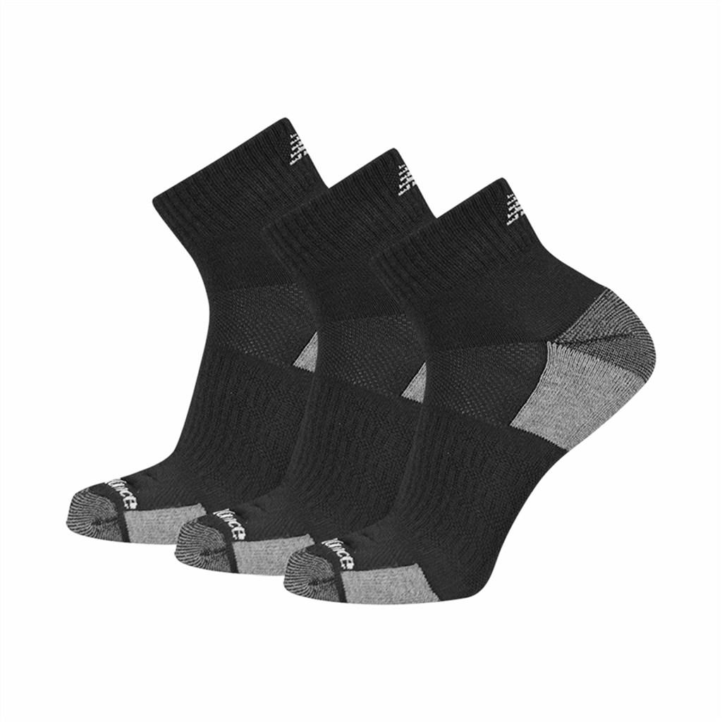 New Balance - NB M Essentials Cushioned Ankle Sock 3 Pair - black
