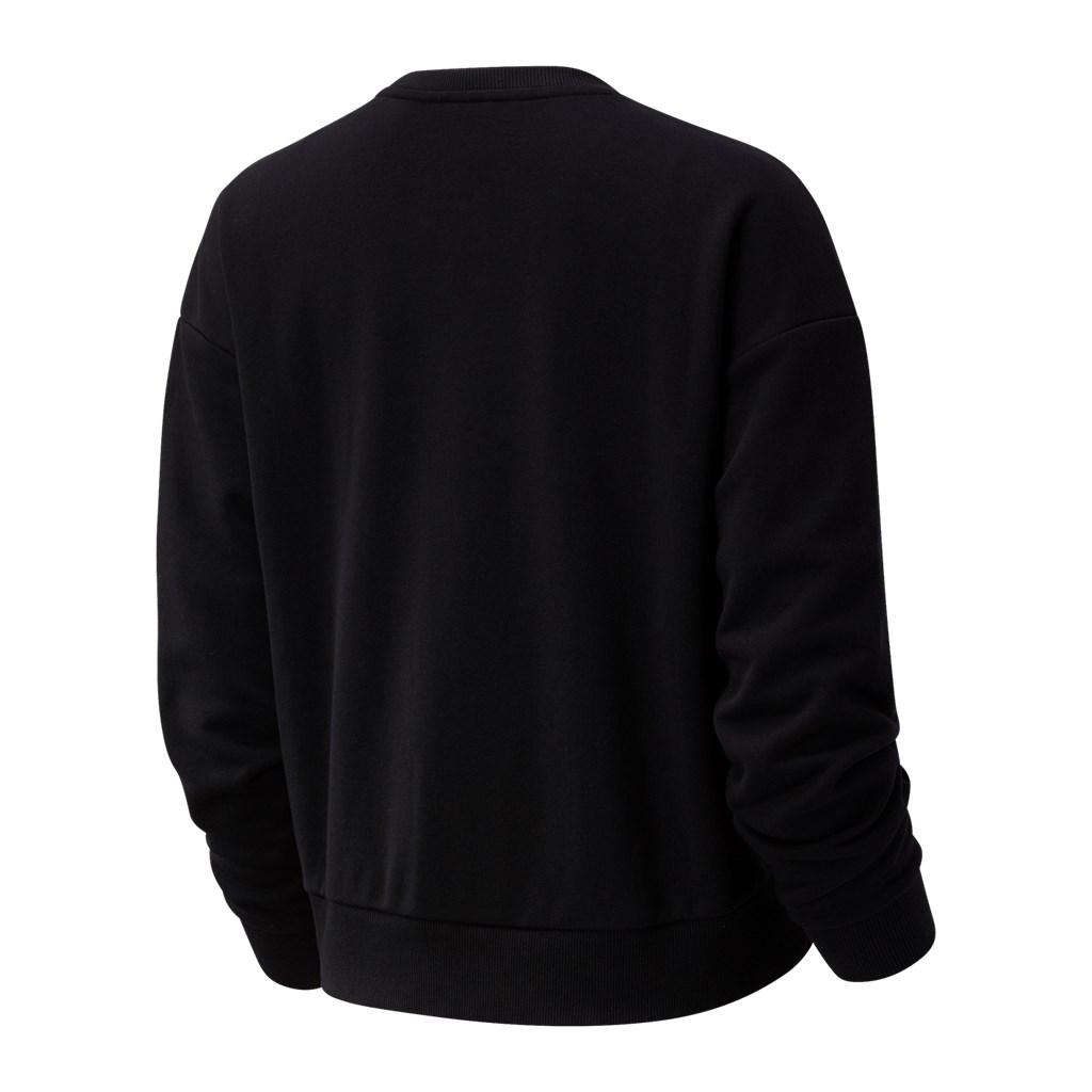 New Balance - W NB Essentials Botanical Crew Fleece - black