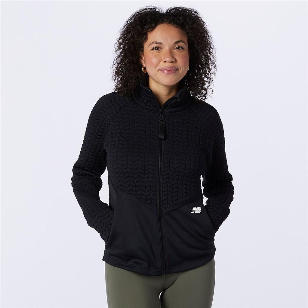 New Balance - W NBHeat Loft Athletic Jacket - black