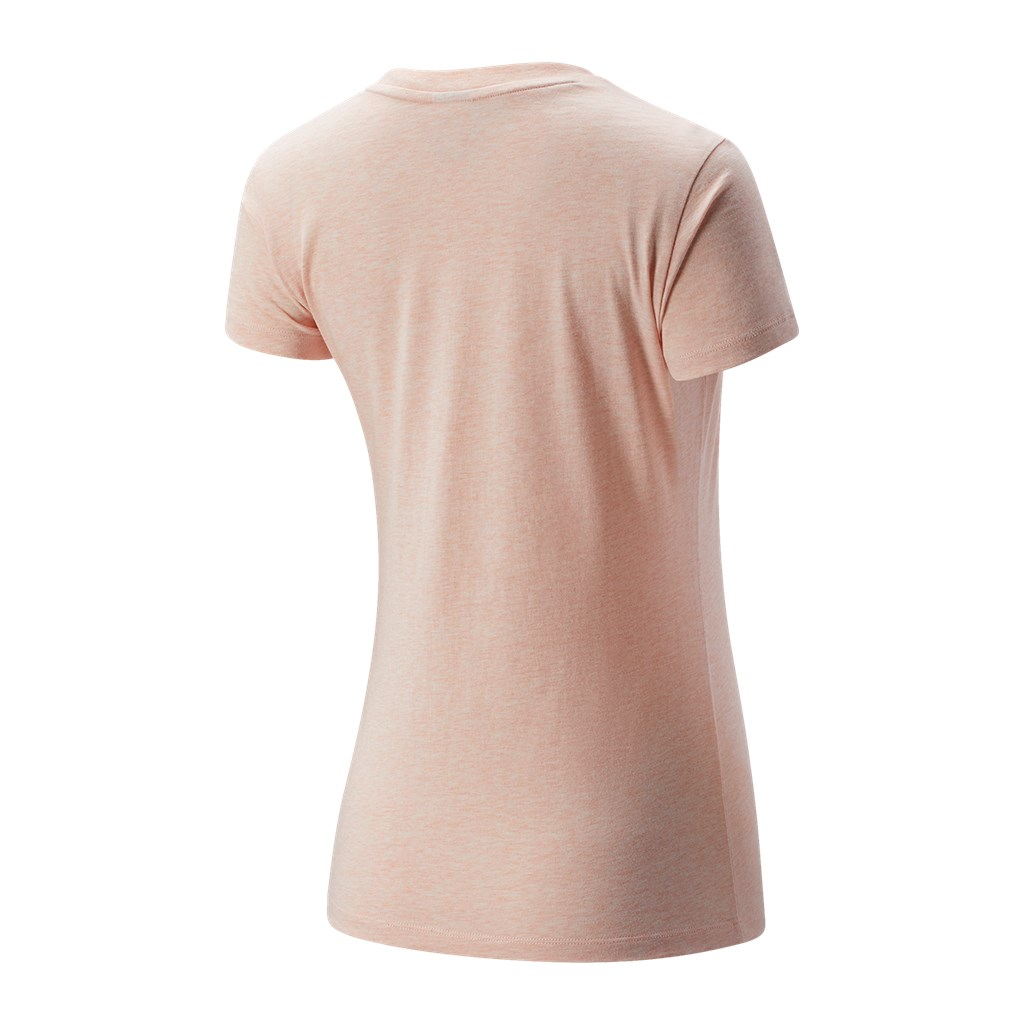 New Balance - W NB Essentials Athletic Club Graphic Tee - oyster pink heather