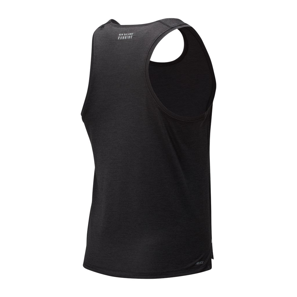 New Balance - Impact Run Singlet - black heather