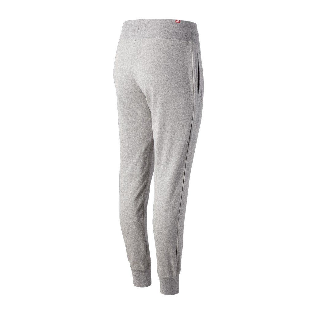 New Balance - W Essentials Stacked Logo Sweatpant - athletic grey