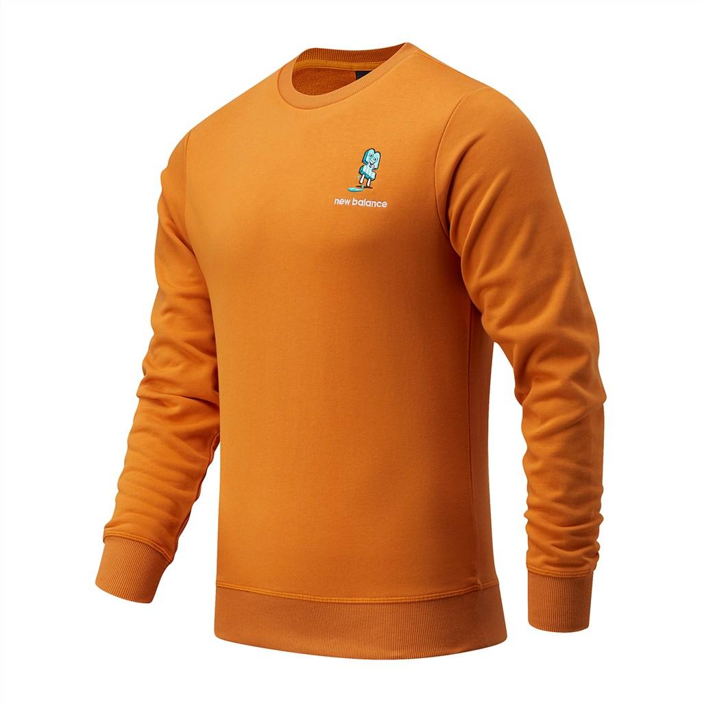 New Balance - NB Athletics Minimize Crew - madras orange