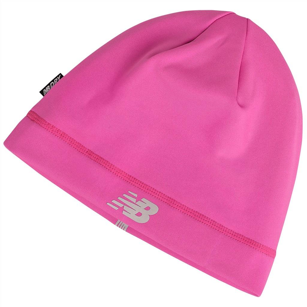 New Balance - NBF - Run Beanie - pink glo