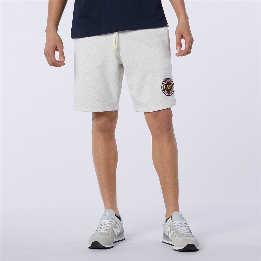 New Balance - NB Essentials Athletic Club Fleece Short - sea salt heather