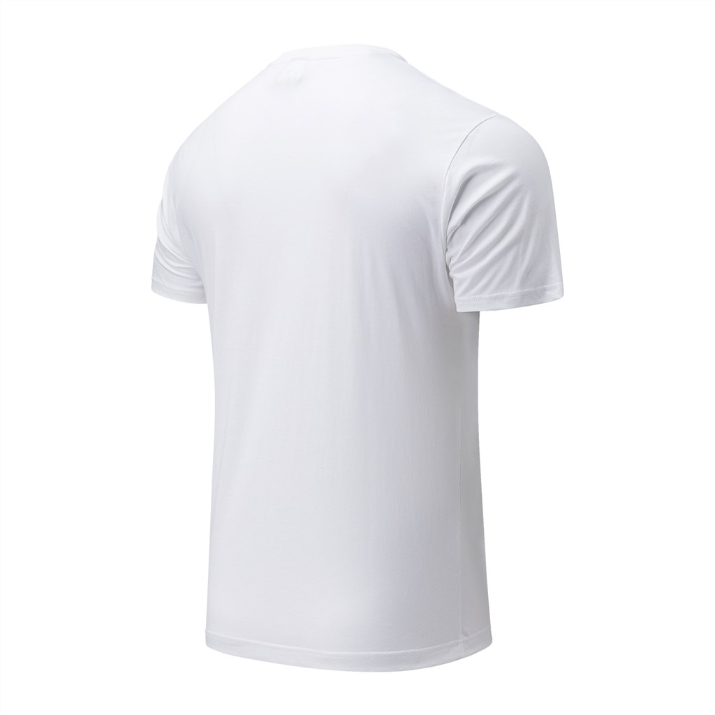 New Balance - NB Essentials Athletic Club Logo Tee - white