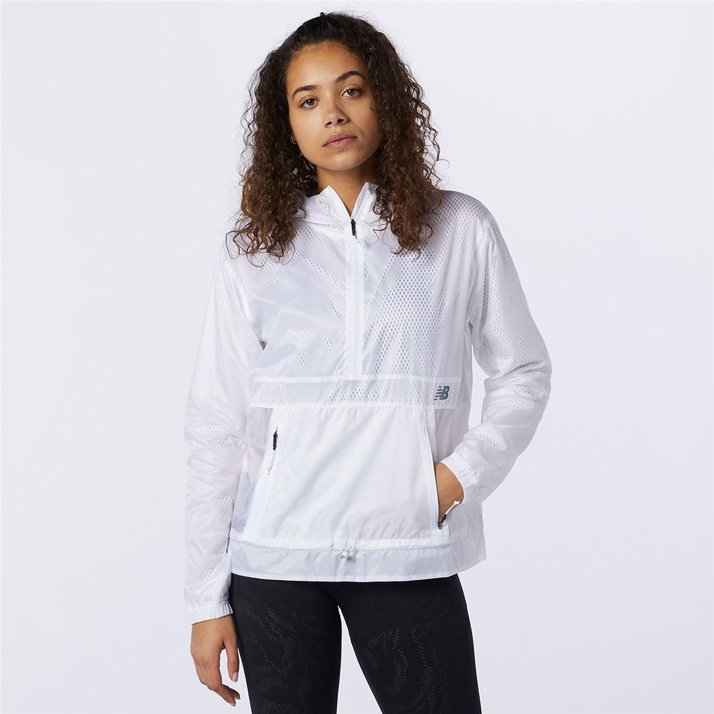 New Balance - W Q Speed Fuel Light Weight Jacket - white