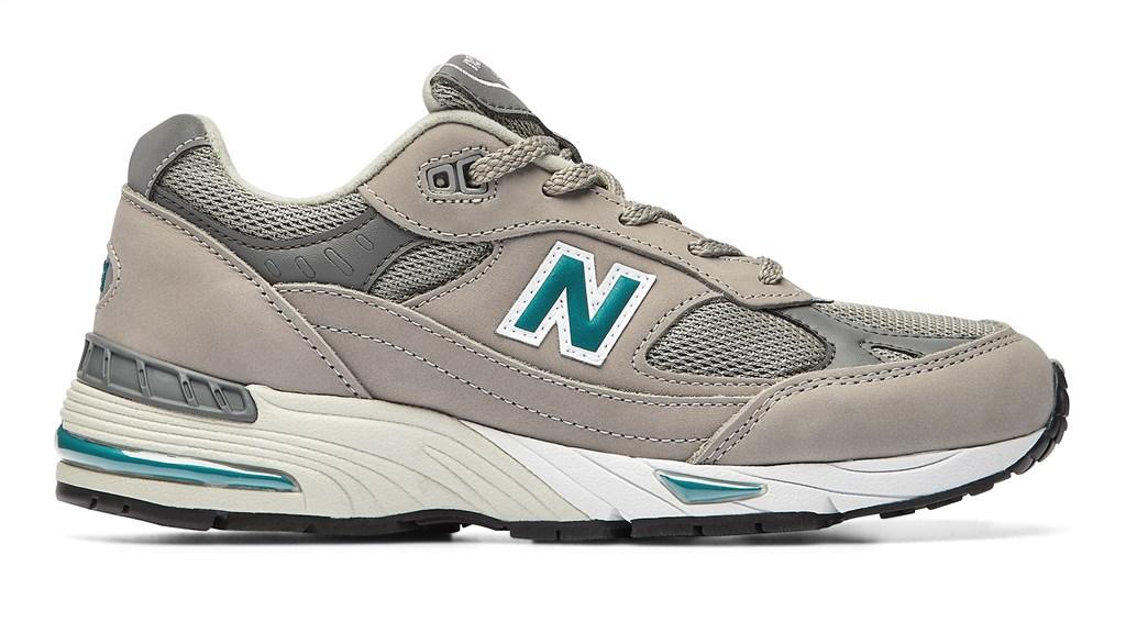 New Balance - W991ANI - grey/green