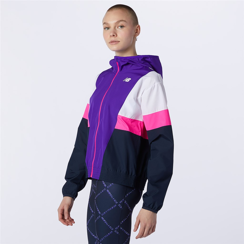 New Balance - W Fast Flight Jacket - deep violet
