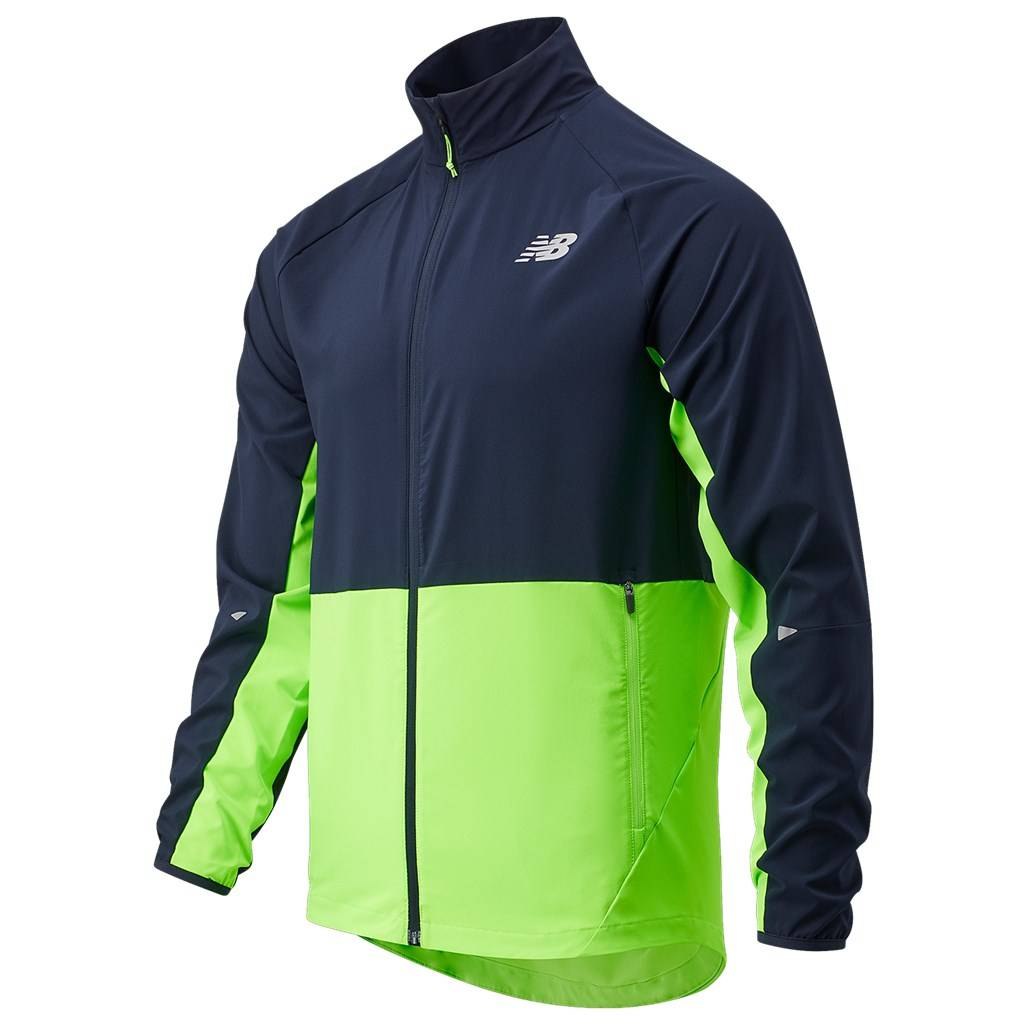 New Balance - Impact Run Jacket - energy lime