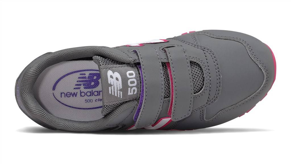 New Balance - YV500RGP - grey/pink